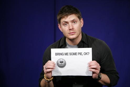 Mmmmm...Dean Winchester...er...pie...