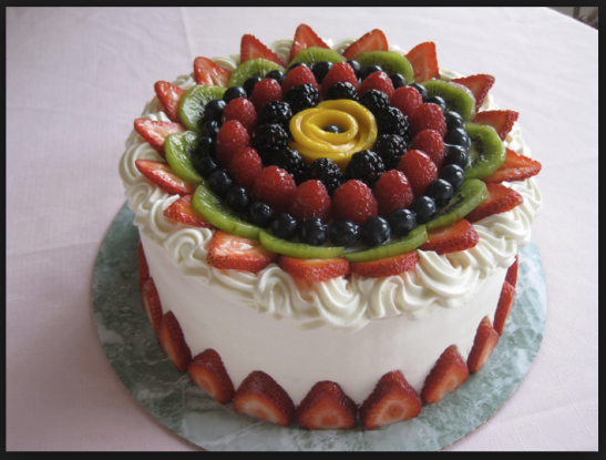 Fruit...good. Cake...good. I think this is a fruit cake I can get behind. ;-)