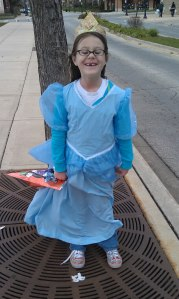 Seven Years Old - Princess (she had asked for Sleeping Beauty, got Cinderella...oops! Still adorable!)