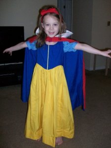 Four Years Old - Snow White (this dress was worn all the time until it didn't fit any more. I may even have it stored away)