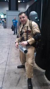 Random dude at C2E2 that let me take his picture cause he was an awesome Ghostbuster!